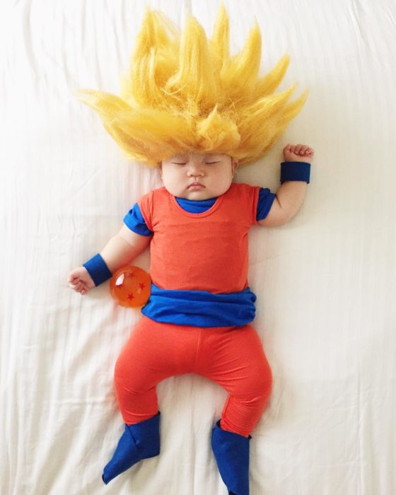 Cosplay mas tiernos del mundo goku dragon ball