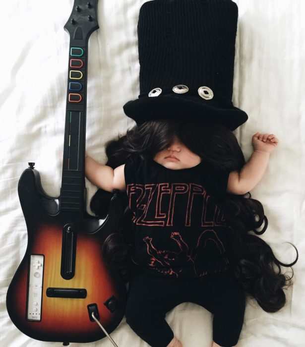 Cosplay mas tiernos del mundo guns n roses slash
