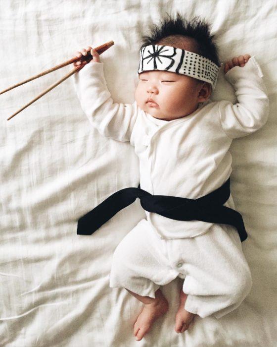 Cosplay mas tiernos del mundo karate kid