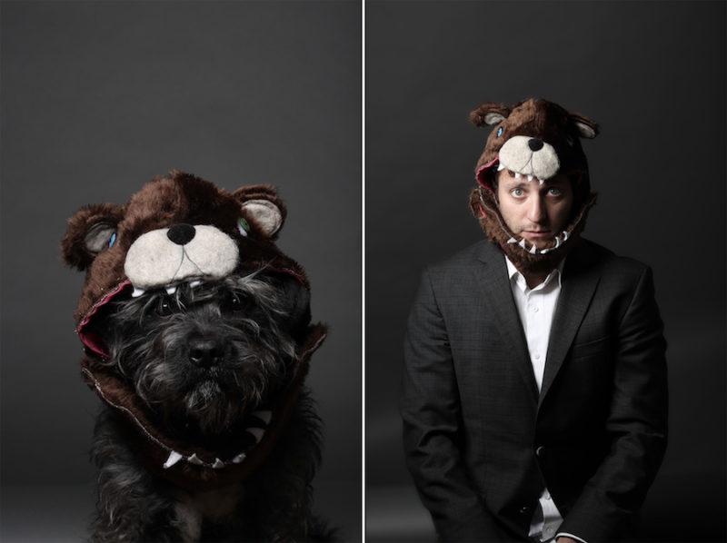 Divertidas fotografias fotografo Mik Milman perro 9