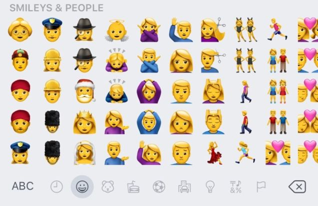 Emojis iOS 10