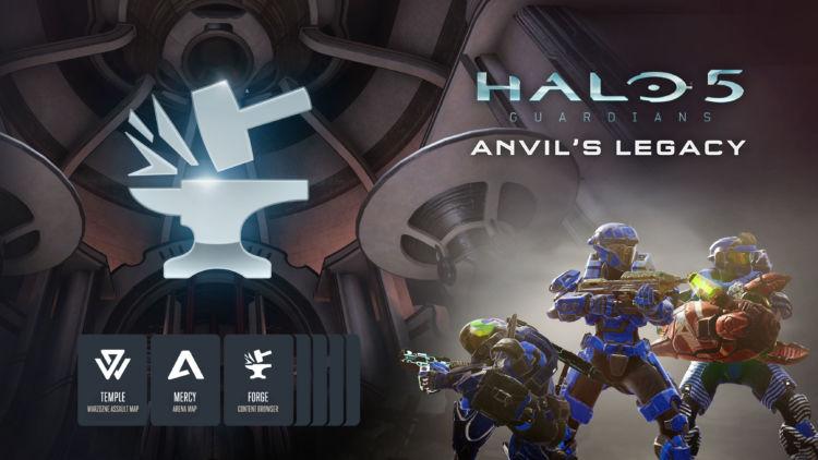 Halo 5 Anvi's Legacy