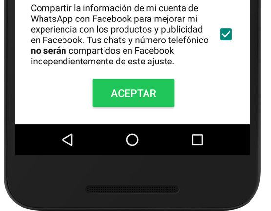 WhatsApp compartira Facebook