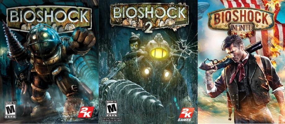 Portadas Bioshock