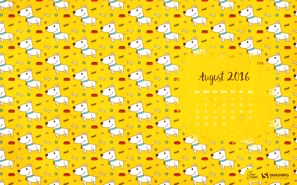Wallpapers con calendario de Agosto 3
