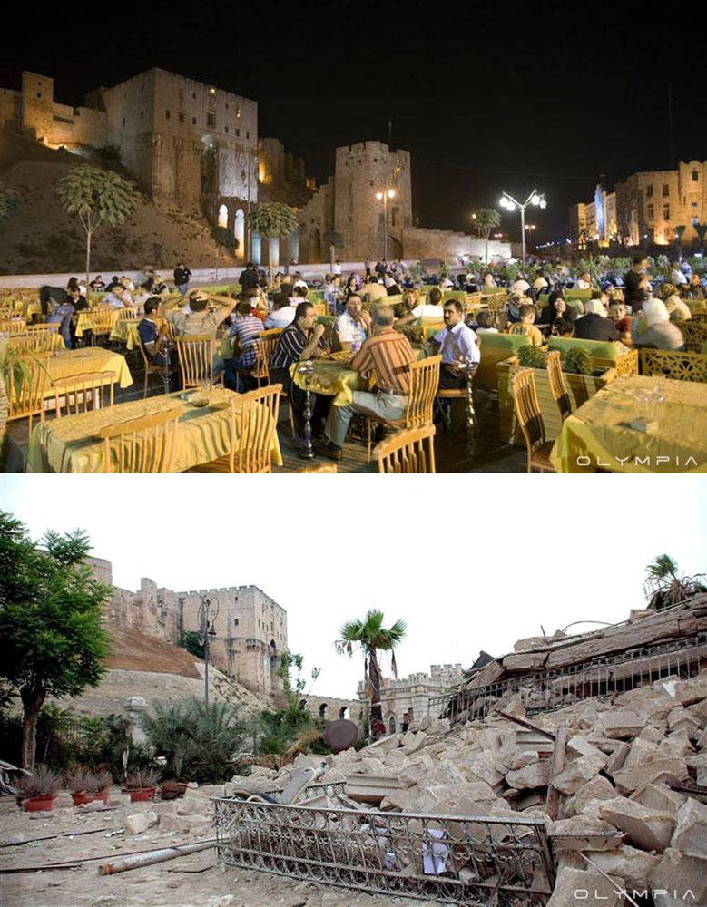 fotos de Syria antes y despues de la guerra 13