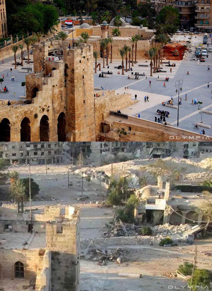 fotos de Syria antes y despues de la guerra 20