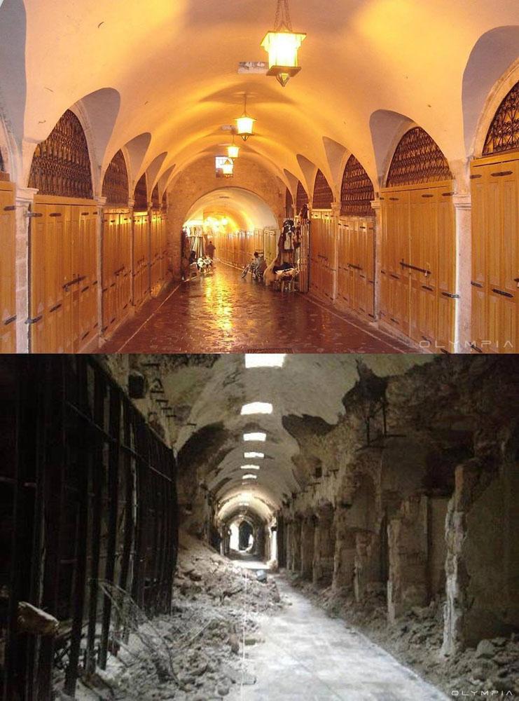 fotos de Syria antes y despues de la guerra 7