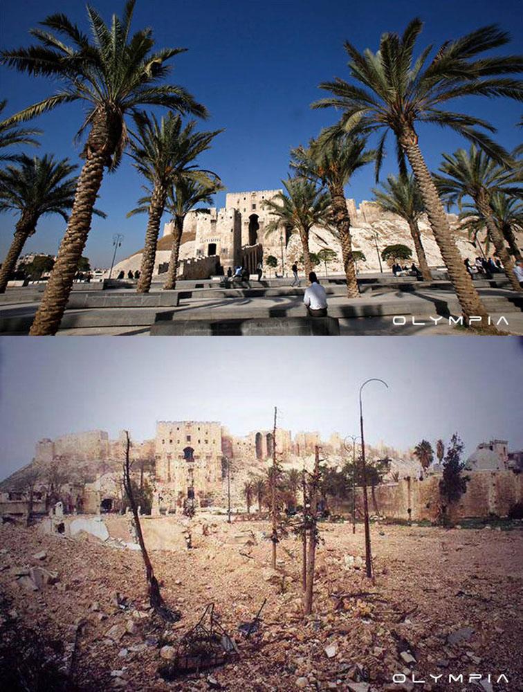 fotos de Syria antes y despues de la guerra 9