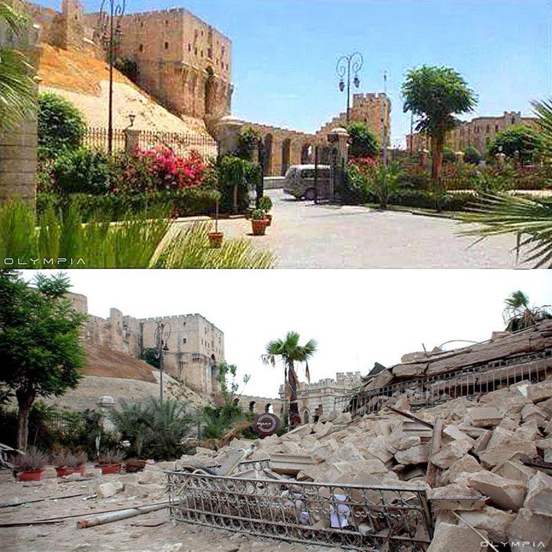 fotos del antes y despues de la guerra en syria 5