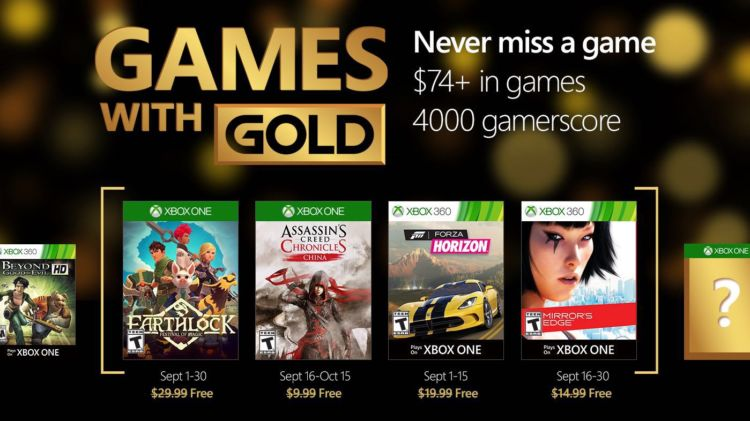 games with gold septiembre 2016