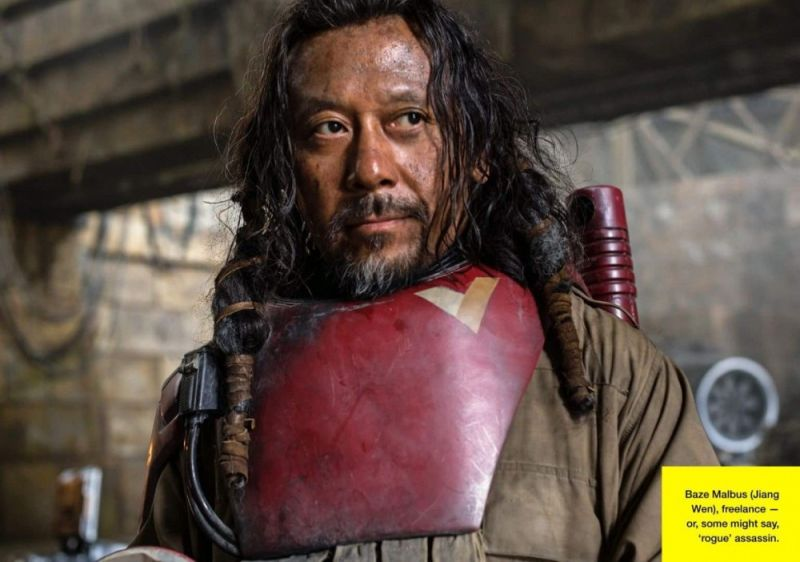 Baze Malbus Star Wars