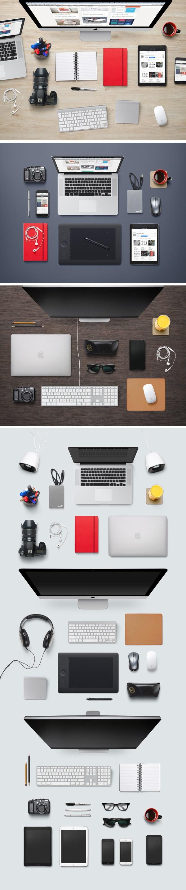 crear escenarios de escritorios