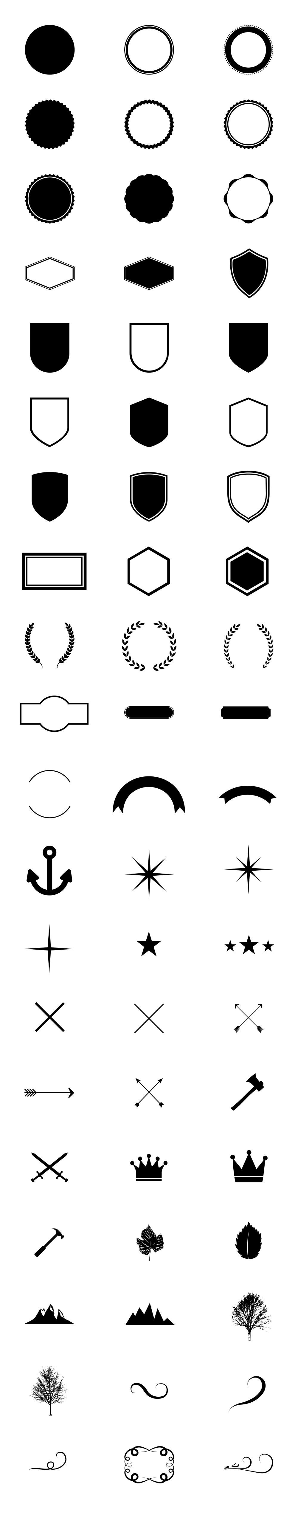 Vectores para crear tu propio logo