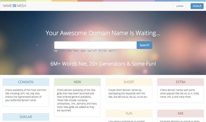 name-mesh