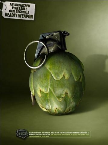 publicidad creativa para vegetarianos