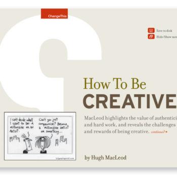 Como ser Creativo