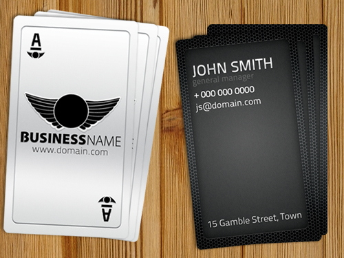 playing_card_business_card