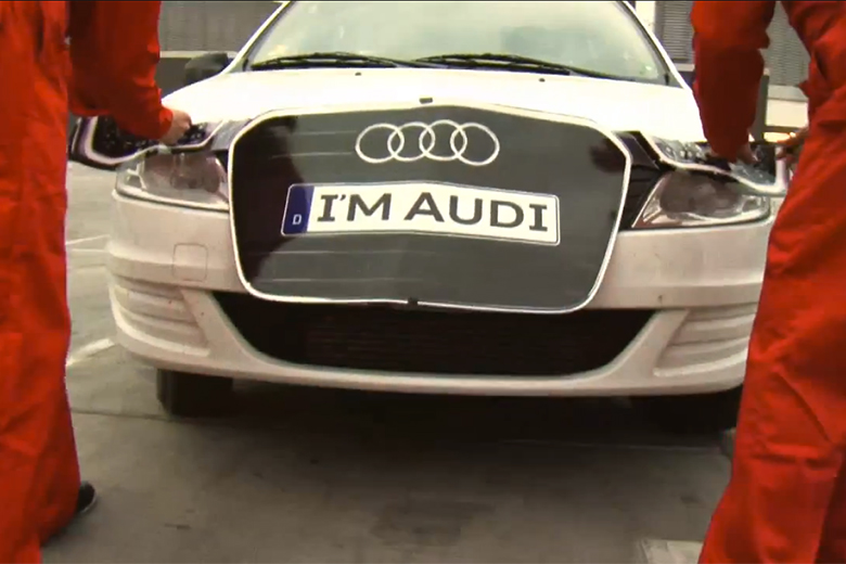 audi Marketing de guerrilla halloween