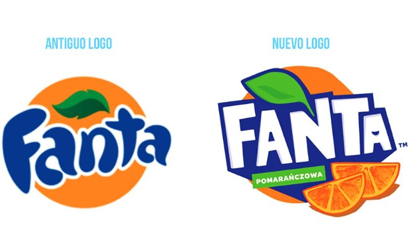Nueva imagen y logotipo de Fanta