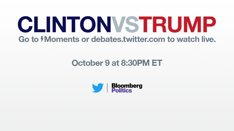 segundo debate Hillary vs Trump en vivo