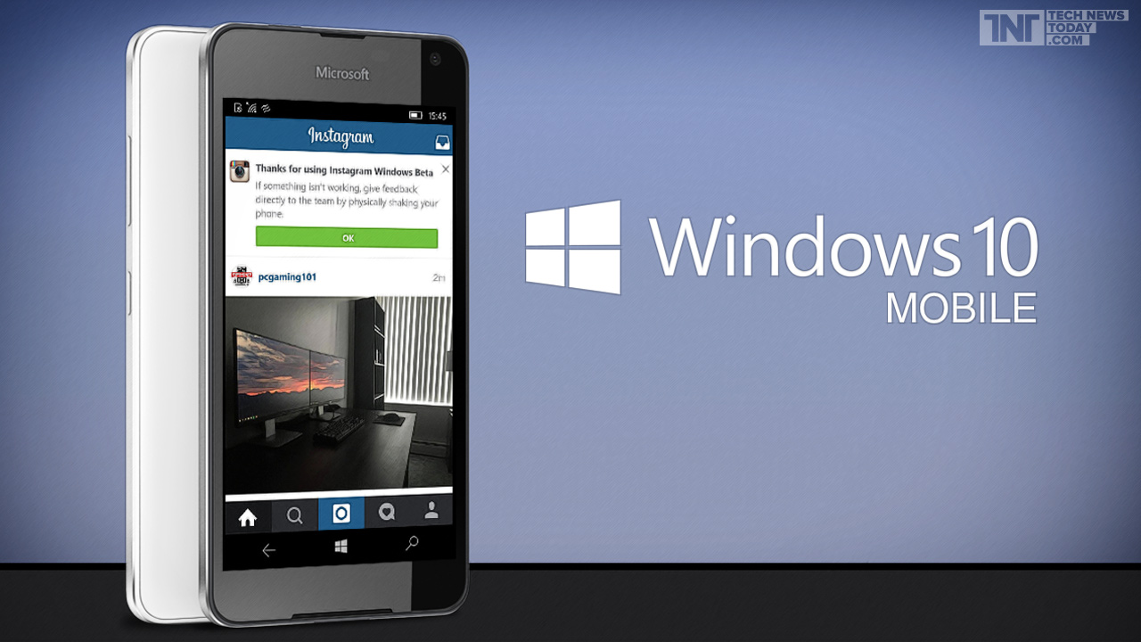 Instagram para Windows 10