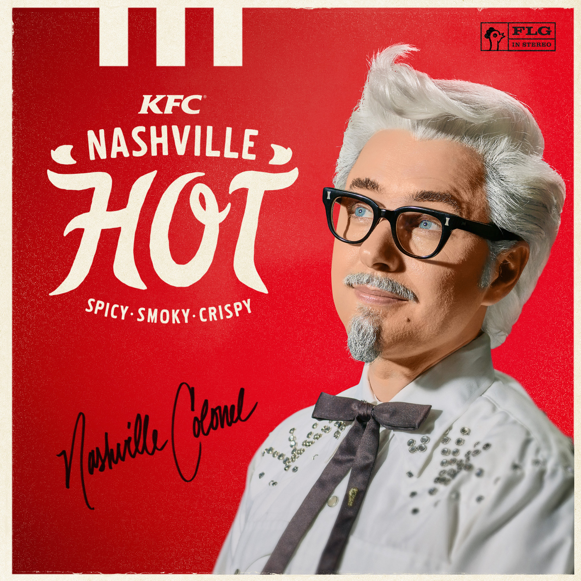 Nuevo coronel sanders de KFC