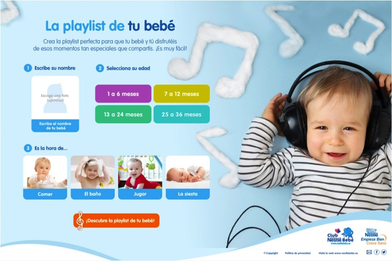 Nestle y Spotify