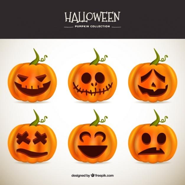 vectores para este halloween