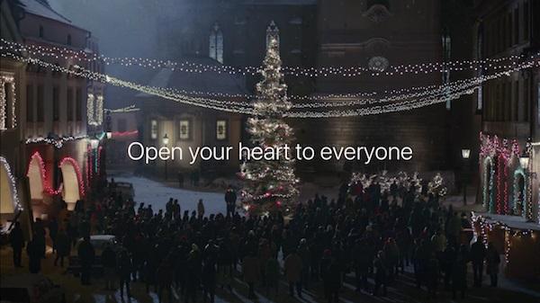 Campaña navideña de Apple
