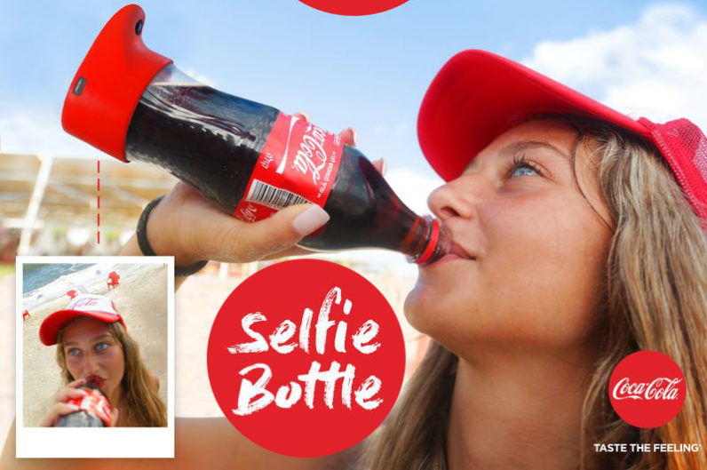 Selfie Bottle Coca cola