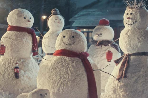 A Lonely Snowman la nueva campaña de coca cola