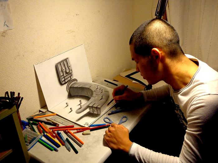 Aprender a dibujar con efecto 3D