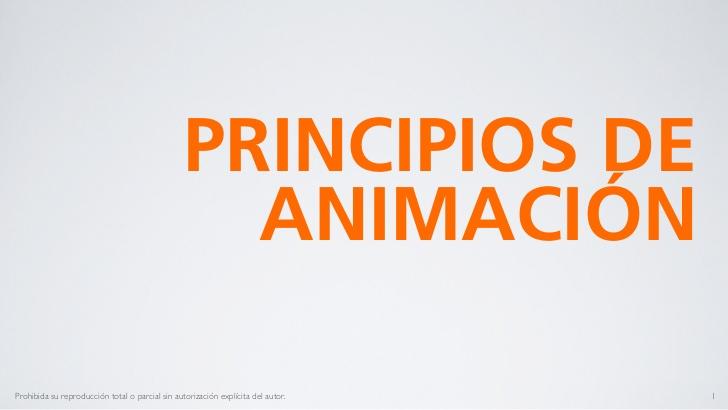 principios básicos de la animación