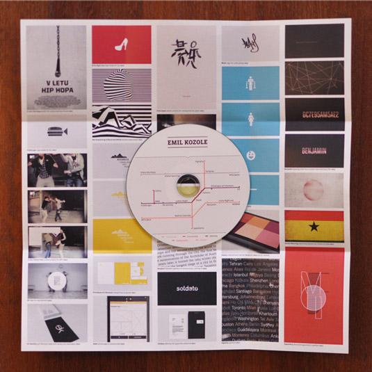 diseños de portafolios creativos