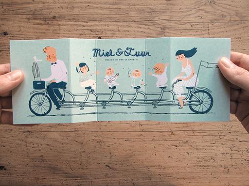 tarjetas para compartir el nacimiento de tus hijos