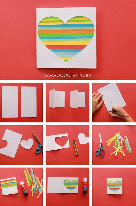 Creativos diseños de sobres de cartas para San Valen
