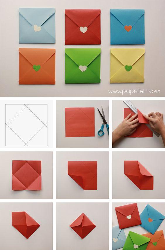 Creativos dise os de sobres de cartas para san valen frogx three - Pasos a seguir para echar a tu hijo de casa ...