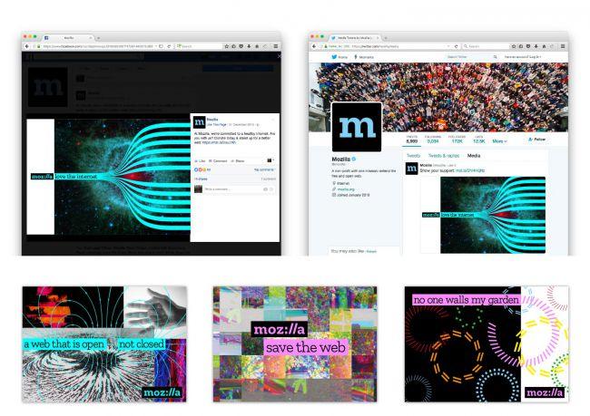 Mozilla presenta su nuevo diseño de branding
