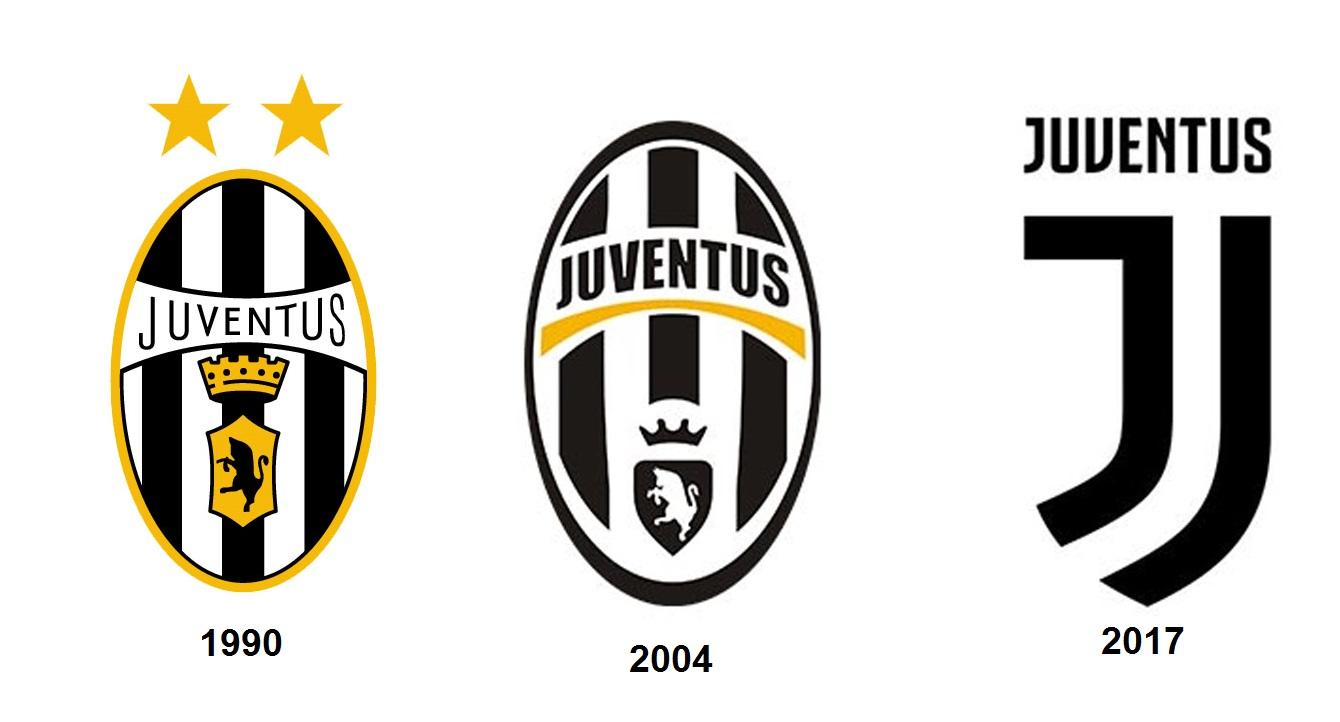 juventus rediseña su logotipo