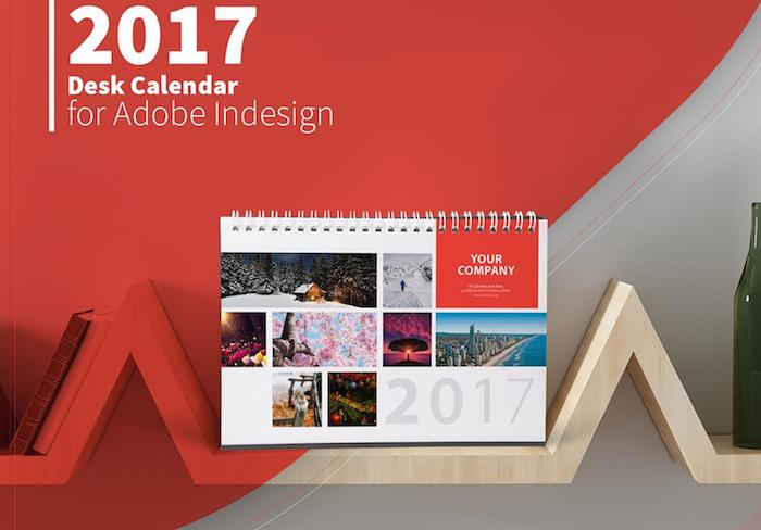 Plantillas para calendarios 2017 gratis id ai ps frogx three - Plantilla calendario de mesa ...