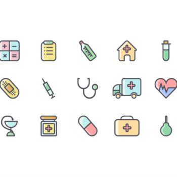 5 Paquetes de iconos gratis para consultorios medicos