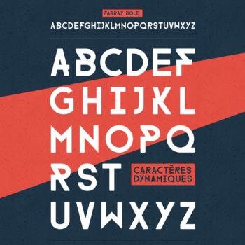25 Fuentes gratuitas perfectas para diseño de logos