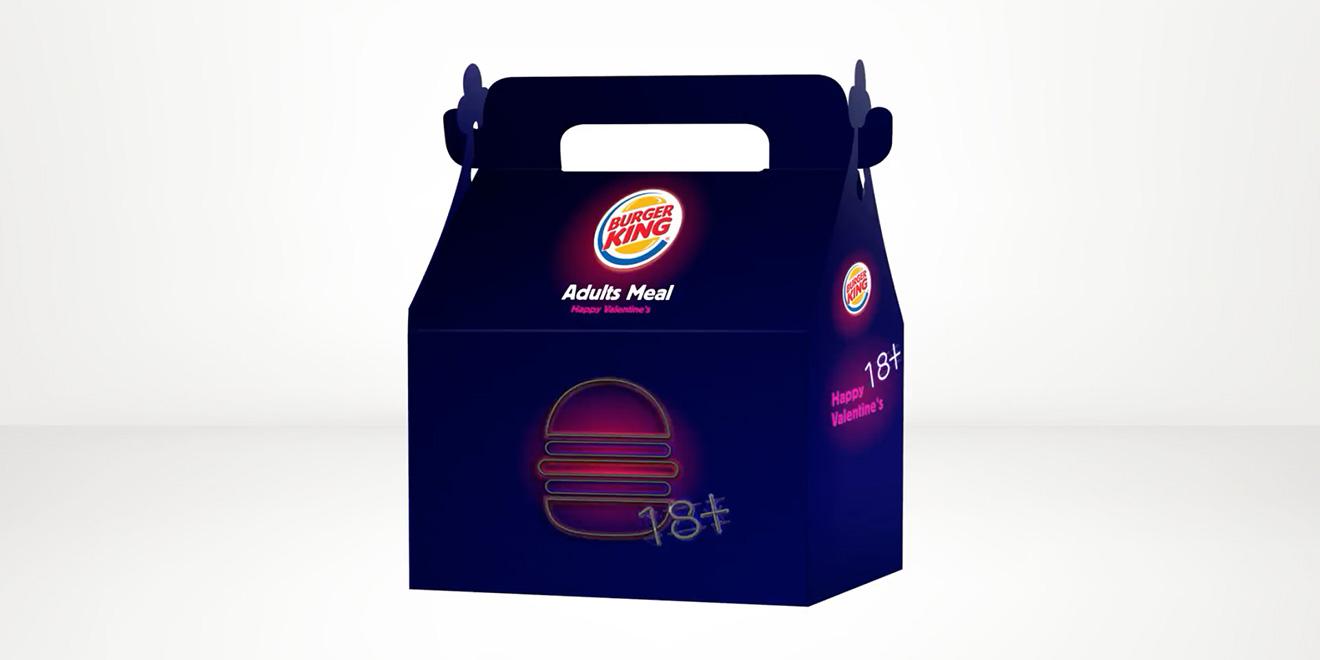 "Burger King lanza peculiar ""Kid's Club"" de San Valentín para adultos"