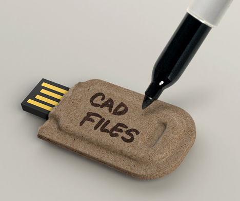 diseño sustentable para memorias USB