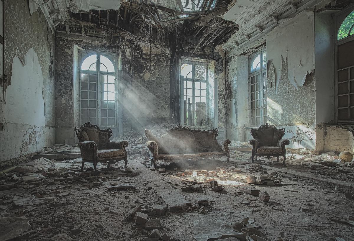 Serie fotografica sobre lugares olvidados