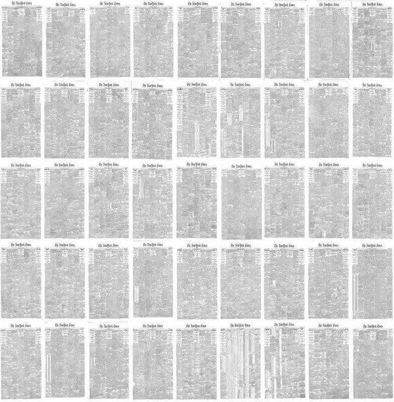Evolución del NY Times y la fotografía periodística