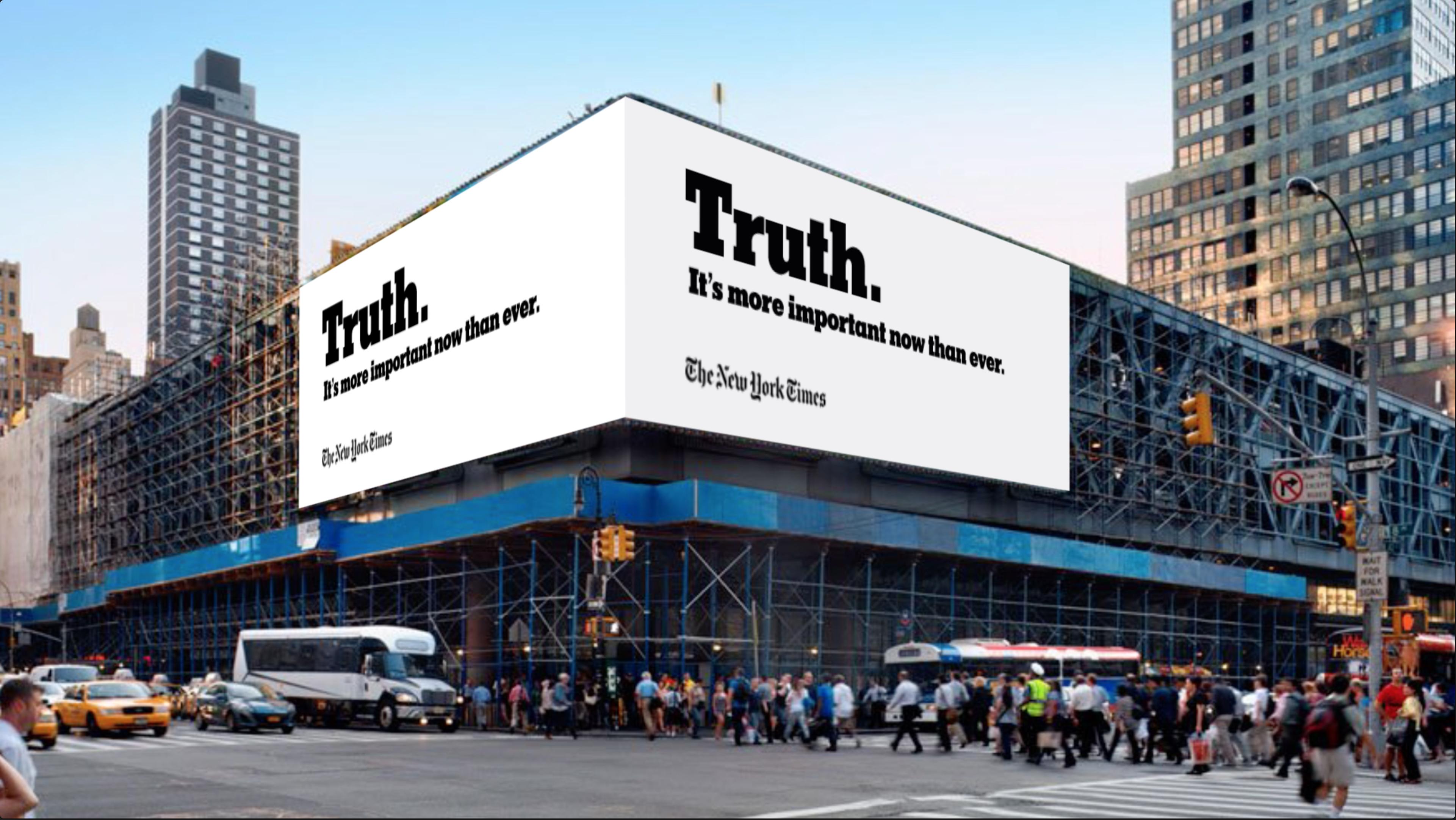 Campaña del NY Times contra Trump