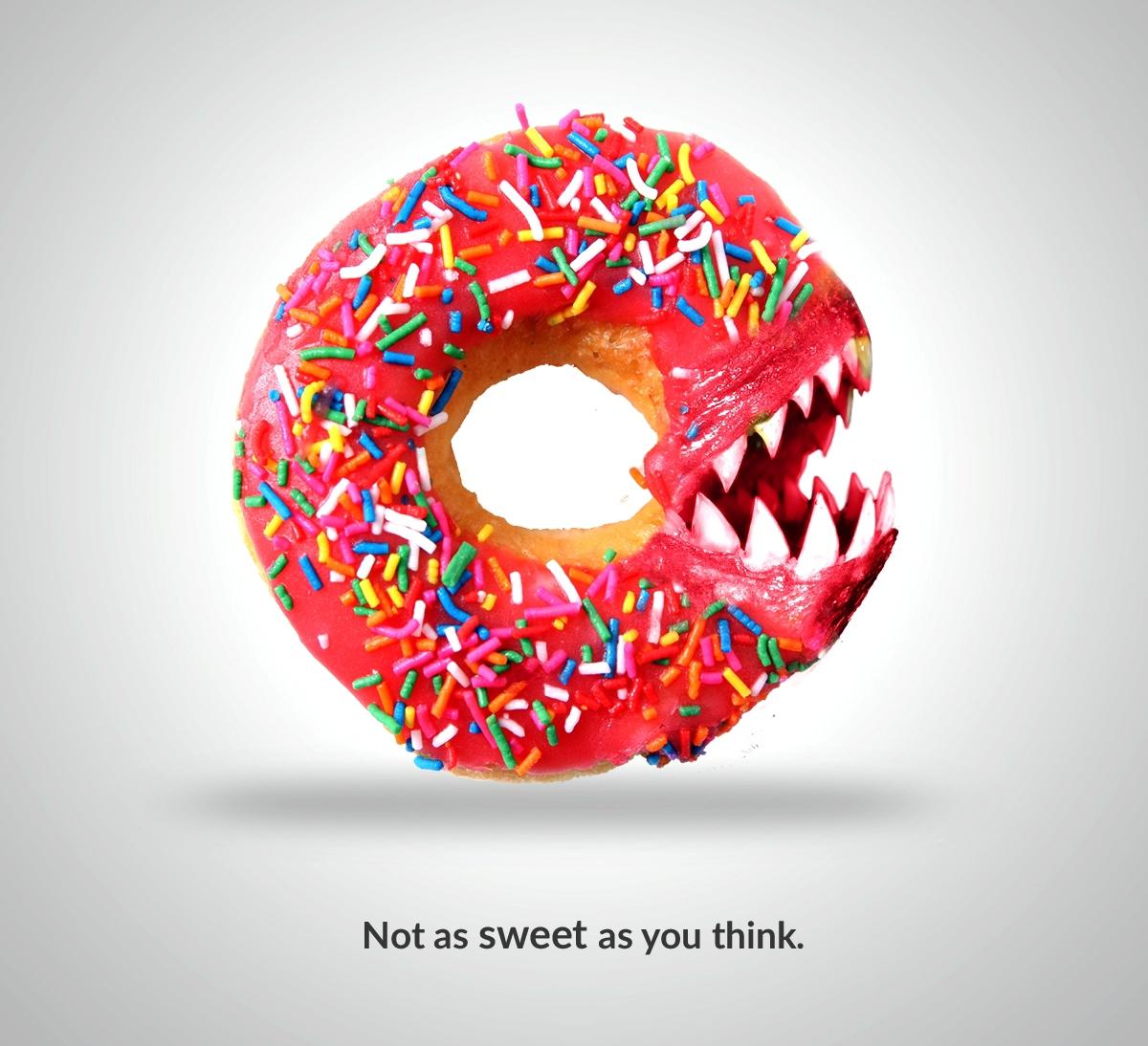 campañas gráficas que advierten sobre la diabetes