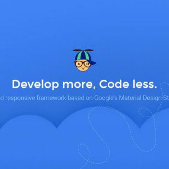 Propeller, un framework para crear paginas web que combina Bootstrap + Material Design